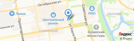 Ленинский районный суд г. Тамбова на карте Тамбова