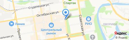 Тамбовская областная торгово-промышленная палата на карте Тамбова
