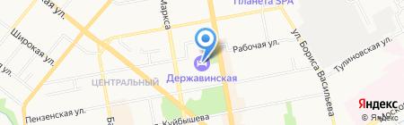 Банкомат АКБ Росбанк на карте Тамбова