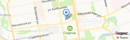 Дента-Люкс на карте Тамбова