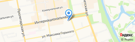Адвокатские кабинеты Стрыгиной Л.С. и Макарий Н.Е. на карте Тамбова