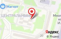 Схема проезда до компании ДЮСШ №2 Тамбовского района в Строителе