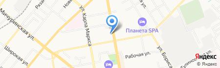 Ultra на карте Тамбова