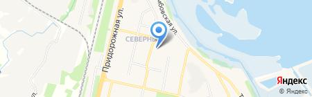 Аптечный пункт Поликлиника взрослая на карте Бокино