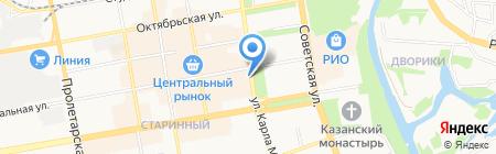 Золото Якутии на карте Тамбова