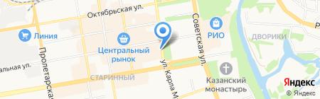Управление Судебного департамента в Тамбовской области на карте Тамбова