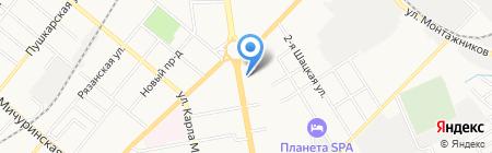 Русский Аппетит на карте Тамбова