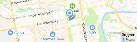 Кавказ на карте Тамбова
