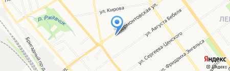 Компаньон Юрист на карте Тамбова