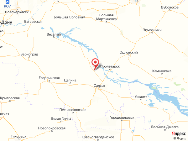 поселок Кермек на карте