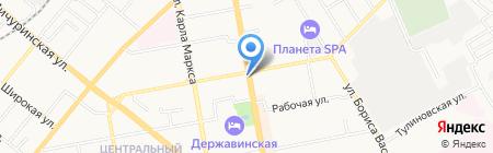 Киоск по продаже фастфудной продукции на карте Тамбова