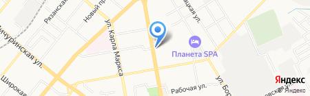 Магазин цветов на Советской на карте Тамбова