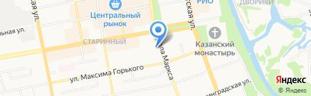 УФК на карте Тамбова