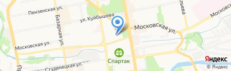 Банкомат АКБ Связь-Банк ПАО на карте Тамбова