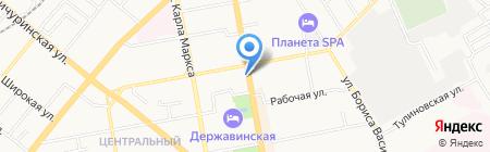 Белорусские колбасы на карте Тамбова