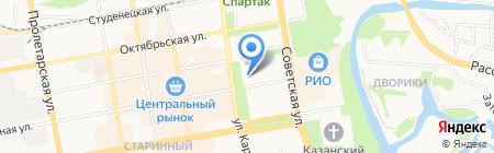СтейкOFF на карте Тамбова