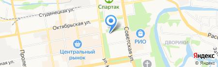 Музей автотранспорта на карте Тамбова