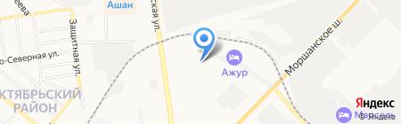 Отдел полиции №3 на карте Тамбова
