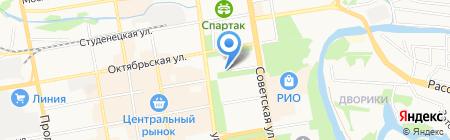 КБ Росавтобанк на карте Тамбова