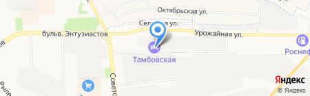 Идеальное на карте Тамбова
