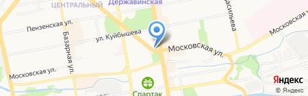 Территориальное управление Росимущества в Тамбовской области на карте Тамбова