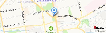 Тамбовский камерный хор им. С.В. Рахманинова на карте Тамбова