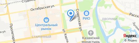 Тамбовская областная коллегия адвокатов на карте Тамбова