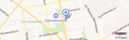 OnlineTur.ru на карте Тамбова