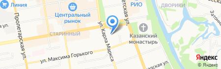 Администрация Тамбовской области на карте Тамбова
