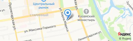 Фонд содействия кредитованию малого и среднего предпринимательства Тамбовской области на карте Тамбова