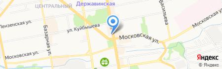 TambovDance на карте Тамбова