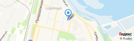 Магазин продуктов на ул. Северный микрорайон на карте Бокино