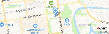 Тамбовский областной краеведческий музей на карте Тамбова