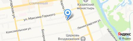 Орион на карте Тамбова