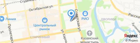 Жилищный комитет на карте Тамбова