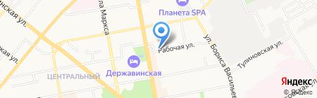 Нюанс на карте Тамбова