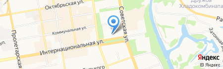 Газпром межрегионгаз Тамбов на карте Тамбова