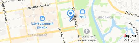 Комитет по информатизации и связи на карте Тамбова