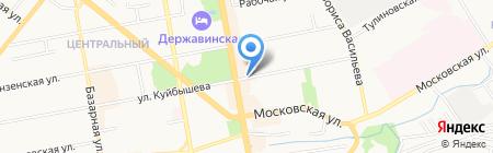 Круиз на карте Тамбова