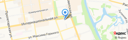 Авгур Эстейт на карте Тамбова