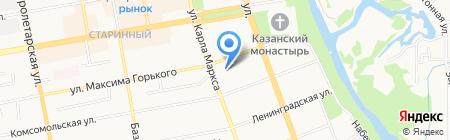 Многофункциональный центр предоставления государственных и муниципальных услуг на карте Тамбова
