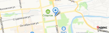 Данко на карте Тамбова