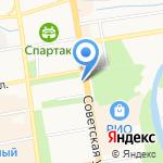 Управление ТЭК и ЖКХ Тамбовской области на карте Тамбова