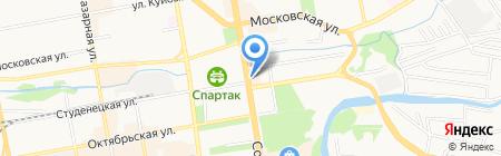 Адрес на карте Тамбова