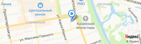 Вета на карте Тамбова