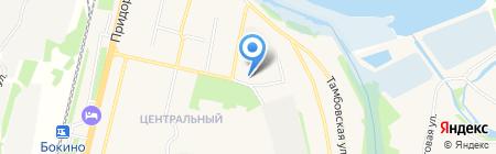 Мак на карте Бокино