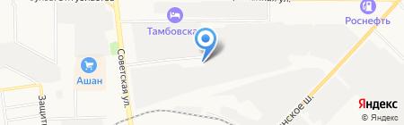 Первомайскхиммаш на карте Тамбова