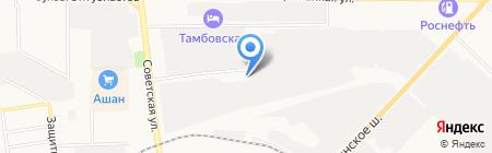 Бухгалтерское Бюро №1 на карте Тамбова