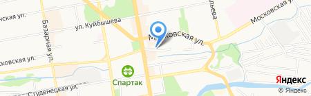 Единый Расчетный Центр МУП на карте Тамбова