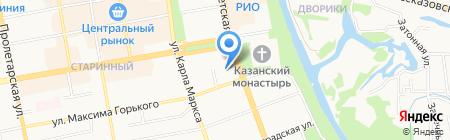 Гостехнадзор на карте Тамбова